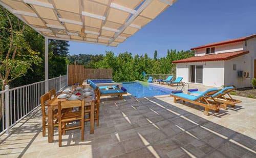 kiralık yazlık Villa Botanik